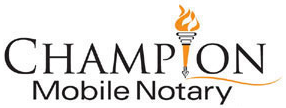 Champion Mobile Notary Services: Serving Santa Clara and South San Mateo Counties, California